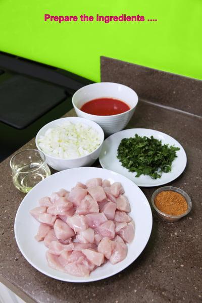 Chicken Curry Method Step 1