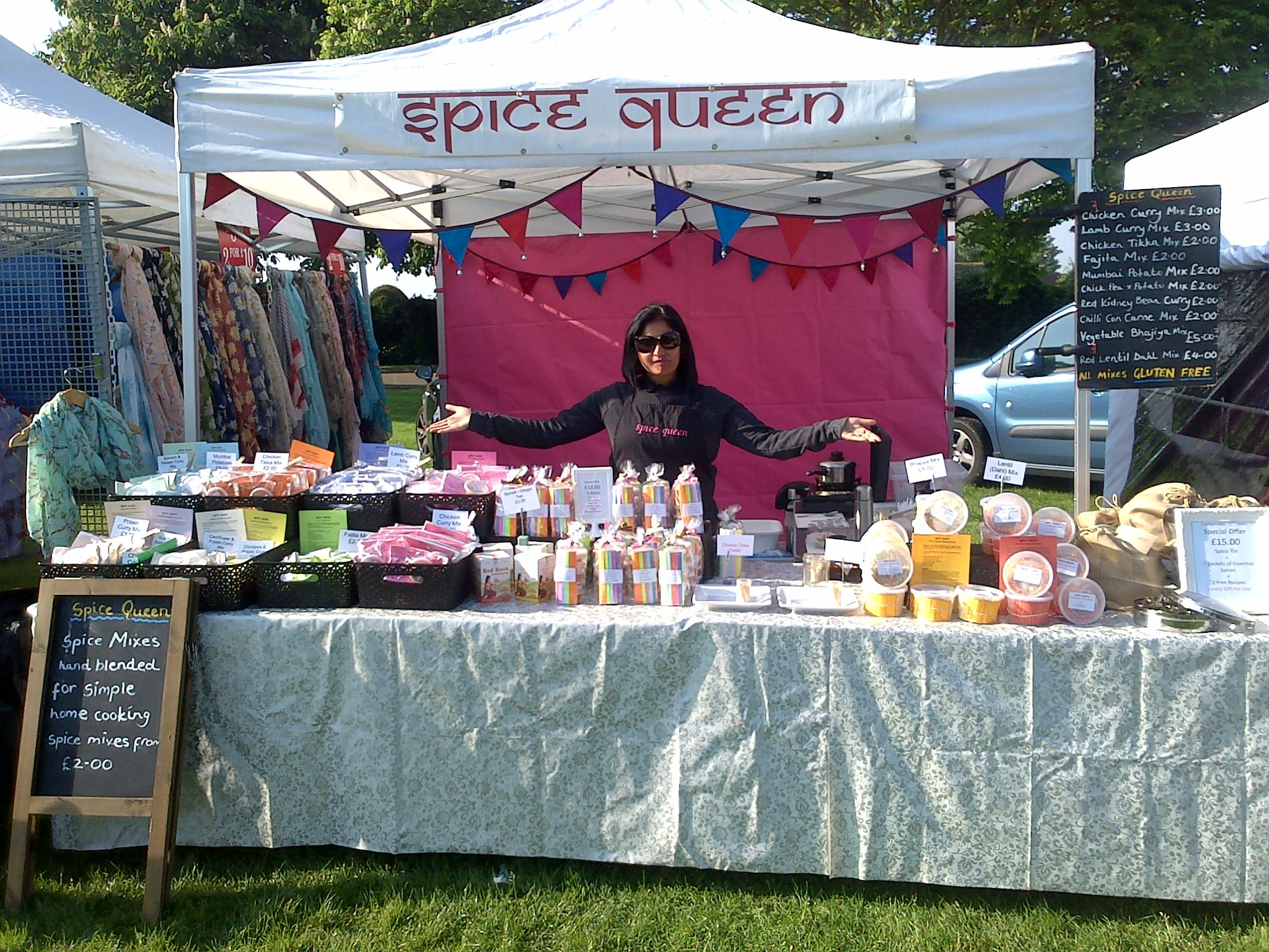Maldon Bank Holiday Market 2014