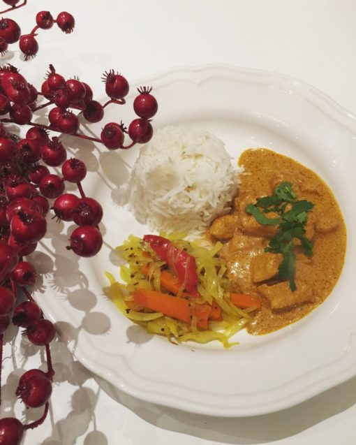 Festive Leftover Turkey Curry