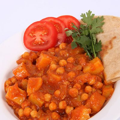 Chickpea-Potato-Curry