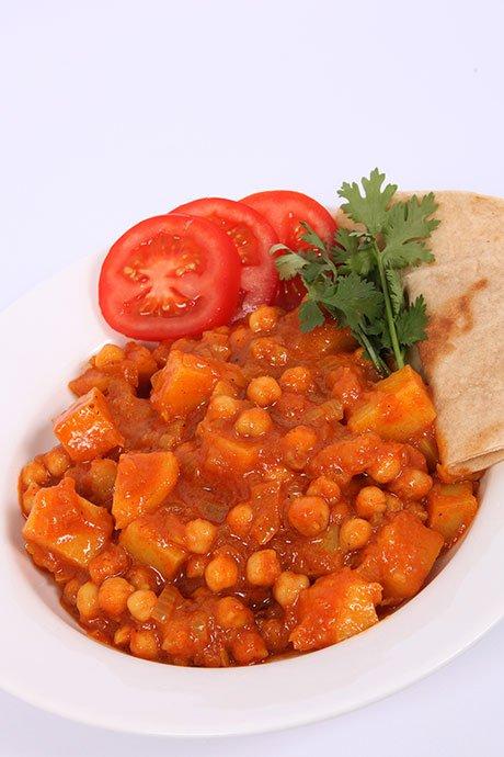 Chickpea-Potato-Curry
